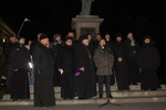 На одесском Евромайдане священников больше, чем активистов