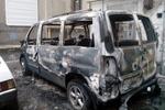 В Харькове сожгли автомобиль активистов Евромайдана