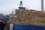 На Евромайдане появилась Стена плача и борьбы