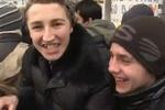 """""""Титушки"""" с Мариинского парка ходят на Евромайдан, чтобы поесть"""
