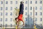 На Павловом Поле в Харькове строят зал для занятий воркаутом