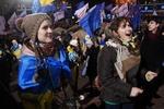 Студенты в Киеве митингуют против новых договоренностей Януковича и Путина