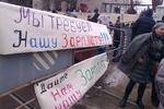 """Участник забастовки в Днепропетровске: """"Ребенок ждет подарок, а что я ему принесу?"""""""