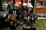 Столичные бездомные устроили пожар в чужом гараже