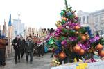 Восемь из десяти митингующих на Майдане останутся там на Новый год