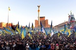 Евромайдан объявил Крещатик зоной свободной от транспорта