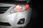 В Киеве Toyota Corolla переехала пешехода