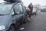 На обледеневшей трассе в Румынии столкнулись 40 автомобилей