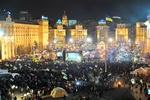 Евромайдановцы побили рекорд по массовому исполнению гимна