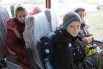 В Крыму из-за непогоды застрял автобус с 25 детьми - пассажири шли пешком