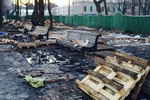 """После """"антимайдана"""" Мариинский парк похож на свалку"""