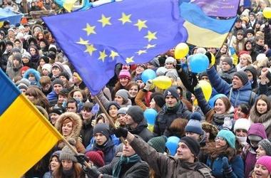 <p>Митингующие на Евромайдане. Фото :AFP</p>