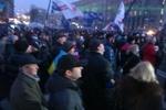 Колонна активистов Майдана идет к суду защищать последнего арестованного