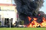 На шинном заводе во Франции проходит забастовка с заложниками и баррикадами