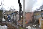 В Одессе горел парк Шевченко