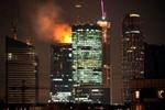 Произошел пожар в одном из небоскребов Москва-сити