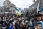 На Народном вече Яценюк рассказывал украинцам про их деньги