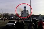 Под Днепропетровском горел уникальный храм