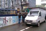 Центральные улицы Киева заблокированы тяжелой техникой