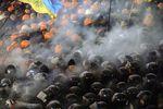 Милиция применила слезоточивый газ против митингующих