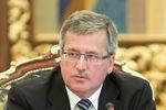 Коморовский не видит смысла в дальнейших разговорах с Януковичем
