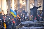 Хроника протестов в Украине: захват МинАПК в Киеве и бунт в регионах (карта)