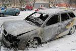 В Одессе ночью сгорело несколько иномарок