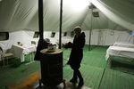 Киевляне тысячами спасаются от холодов в пунктах обогрева