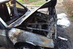 В Крыму сожгли машину ударовца