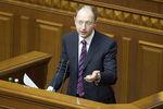 Яценюк заявляет, что оппозиция подготовила проект новой Конституции
