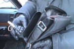 Во Львове милиция поймала мужчину с пистолетом и гранатой