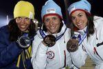 Медальный зачет после первого дня Олимпиады в Сочи