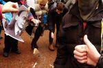 """В Одессе жгли портрет Берии и митинговали против """"радикализма"""""""