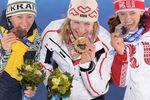 Медальный зачет после третьего дня Олимпиады в Сочи