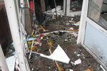 На месте взрыва банкомата в Харькове настоящий погром