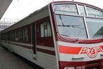 В Киеве поезда Hyundai заменили электричками без света