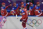 Россия стартовала в хоккейном турнире в Сочи с победы над аутсайдерами