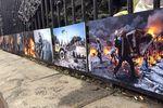 На Грушевского открылась фотовыставка о событиях на Майдане