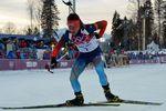 Российский биатлонист завоевал медаль в Сочи в свой день рождения
