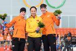 Китаянка опередила всех на дистанции 1000 метров в конькобежном спорте