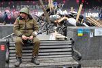 Протестующие освободили здание мэрии Киева