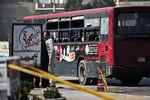 В Египте взорвался автобус с туристами