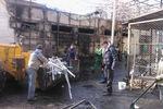 В Одессе горел супермаркет известной торговой сети