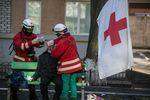 Как на Майдане спасали окровавленных активистов и силовиков