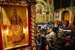В Михайловском соборе создан пункт сбора вещей на Майдан