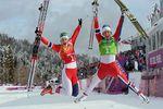 Норвежские лыжницы вывели свою страну в лидеры медального зачета в Сочи