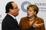 """Олланд и Меркель назвали происходящее в Украине """"отвратительным"""""""