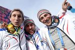 Французы впервые в истории зимних Олимпиад заняли весь подиум