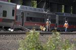 В Америке с рельсов сошел пассажирский поезд