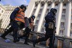 Внутренние войска уехали из Киева